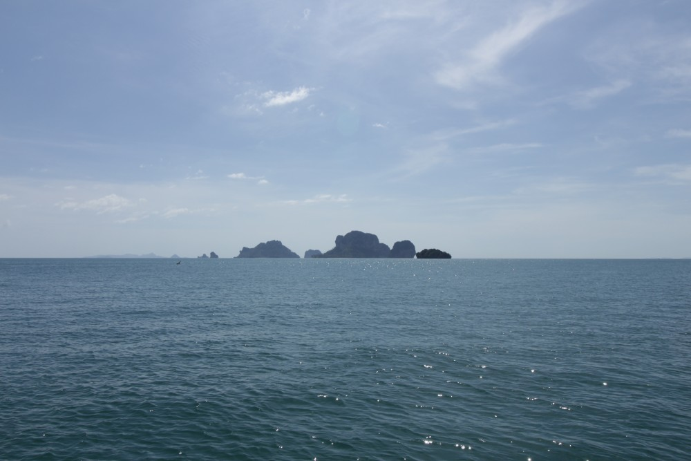 View from the Andaman sea