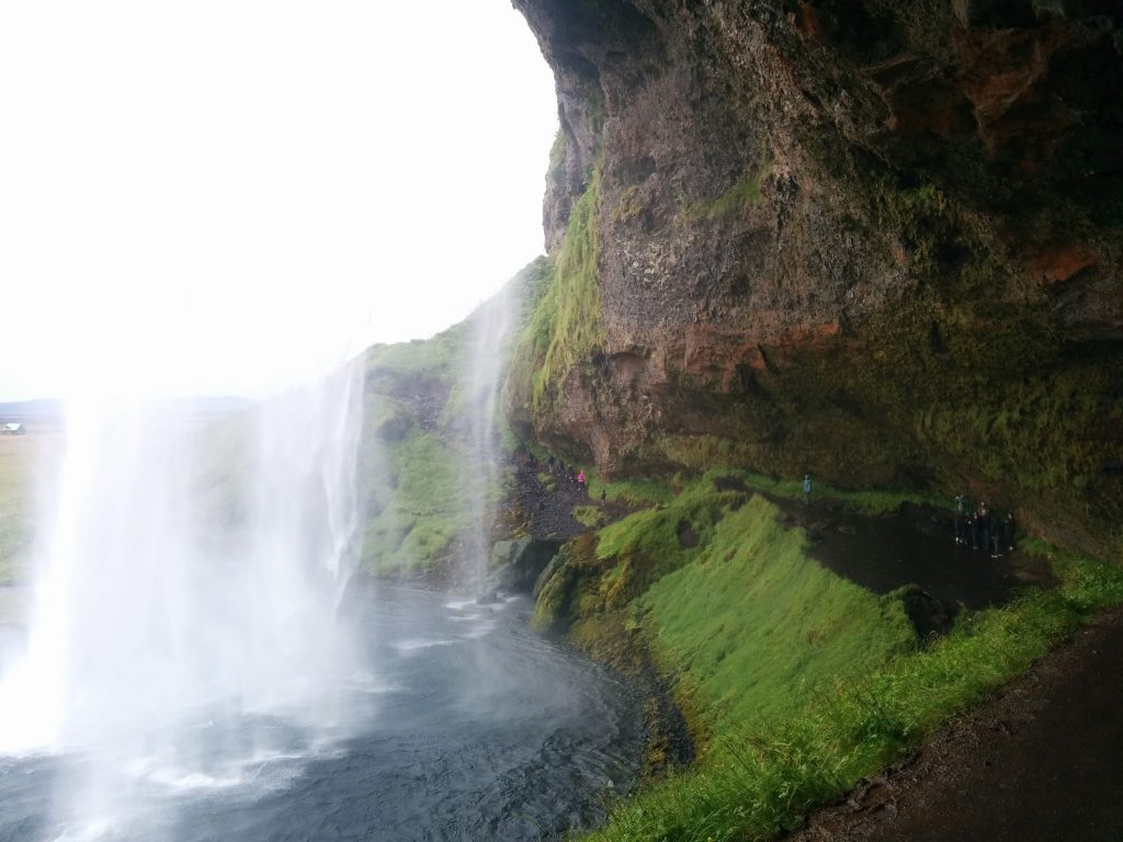 Seljalandsfoss - first stop on the Ring Road in Iceland