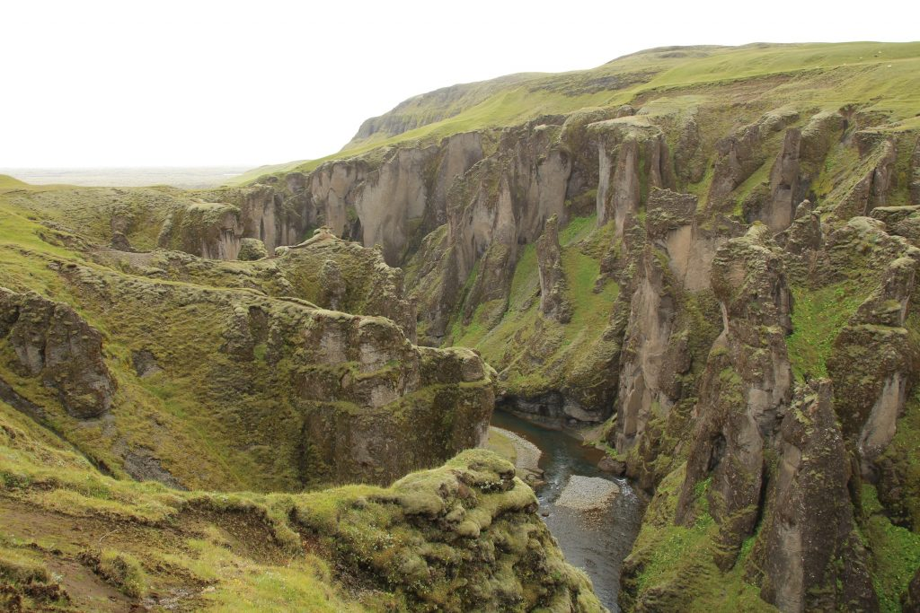 Fjaðrárgljúfur canyon - Ice age canyon in Iceland