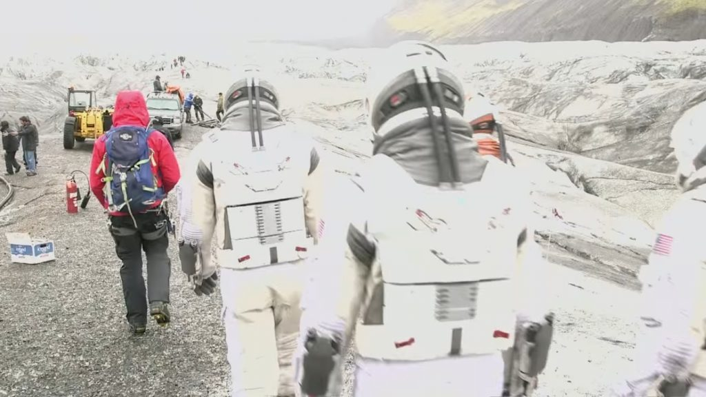Interstellar Iceland - filming
