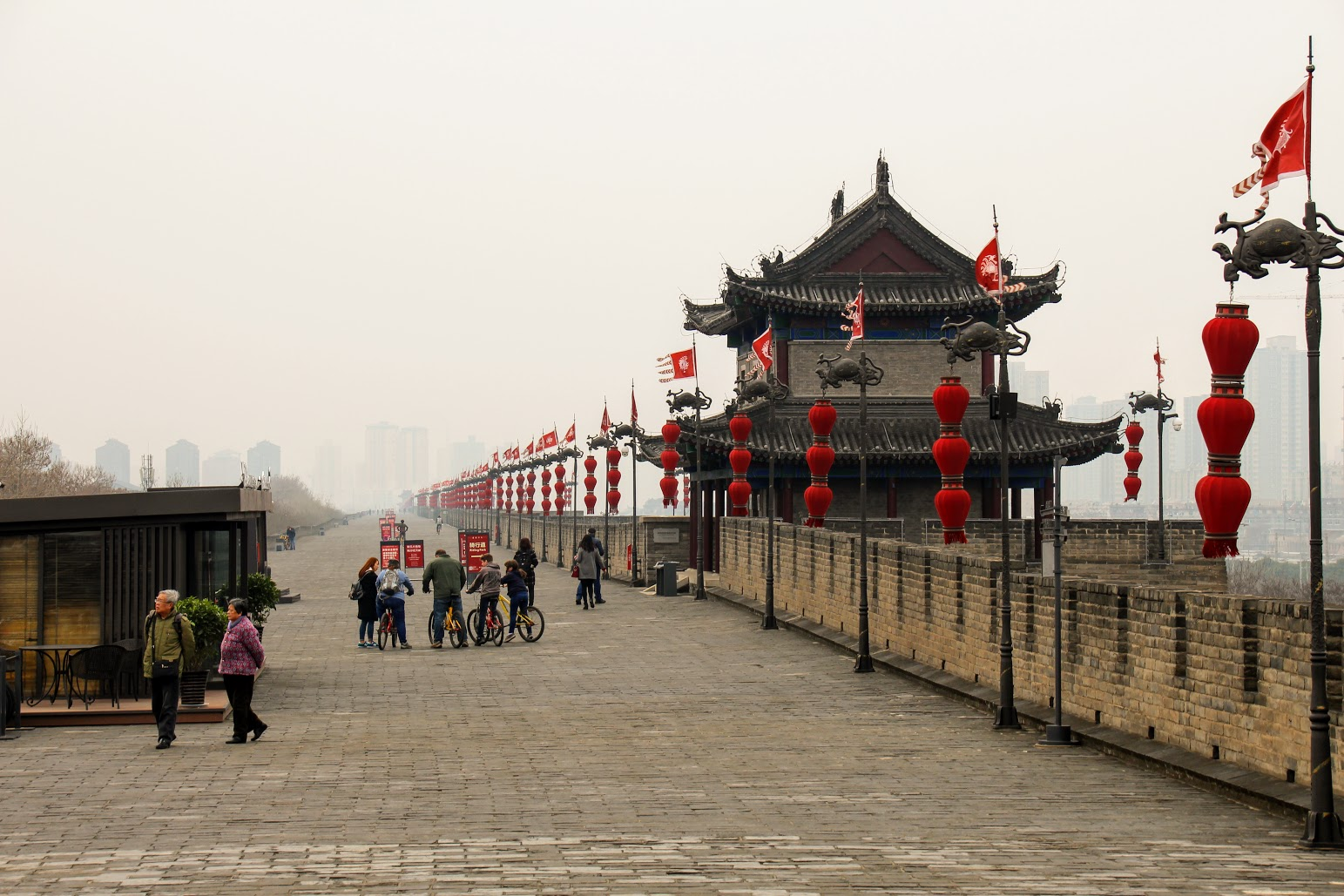Xi'an fortified defensive wall