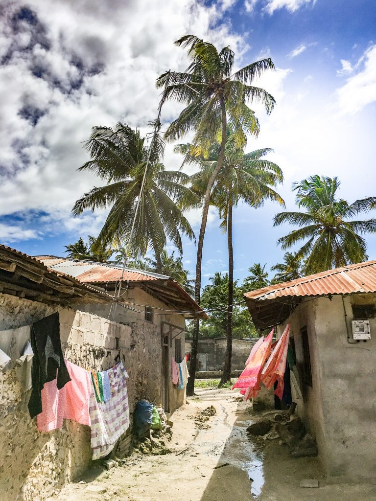 Nungwi village, the most popular village where you can meet the locals - 10 reasons to visit Zanzibar.