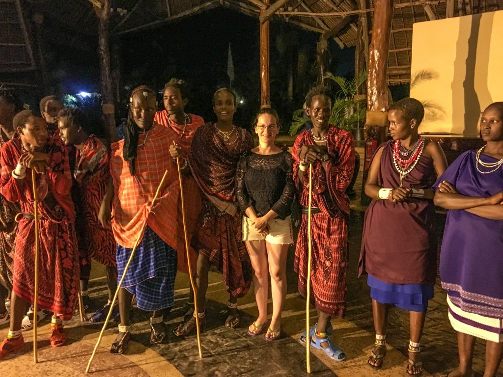 I was actually eyeing the leader of the tribe, but others were faster. I was happy that other members of the tribe accepted me among them. - 10 reasons to visit Zanzibar.