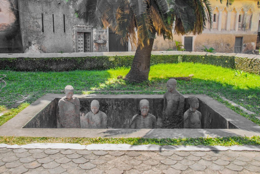 Memorial for the slaves from Zanzibar - 10 reasons to visit Zanzibar.