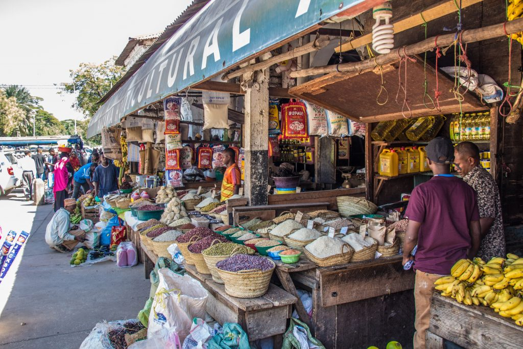 Fruit, vegetable and spice market in Stone Town - 10 reasons to visit Zanzibar.